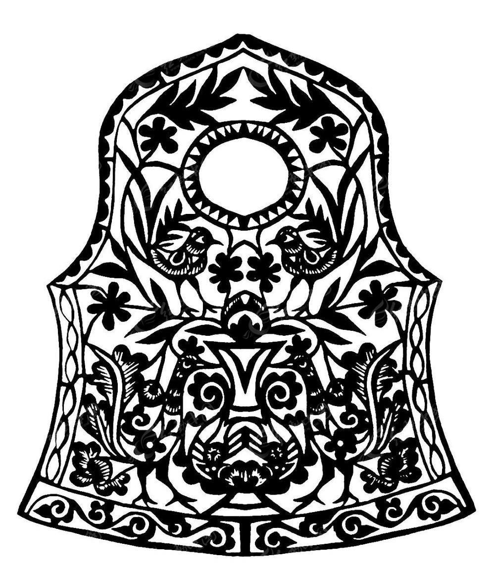 古典传统舞台_图纸工艺品简易刺绣服饰图片