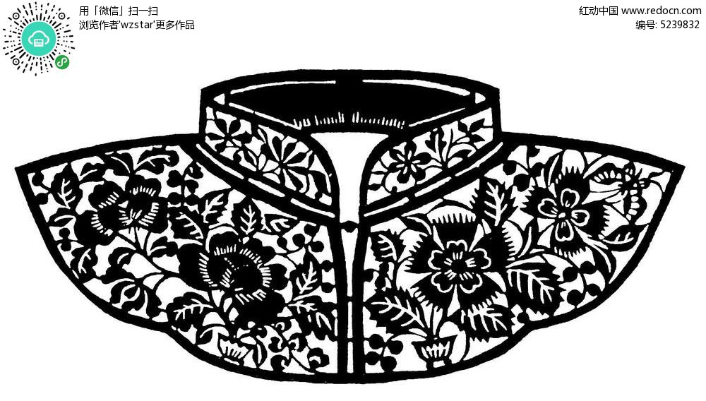 古典服饰花纹AI素材免费下载 编号5239832 红动网