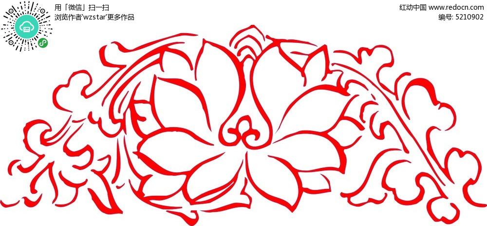 花朵花纹素材图片