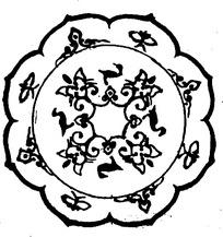 花形古老图案