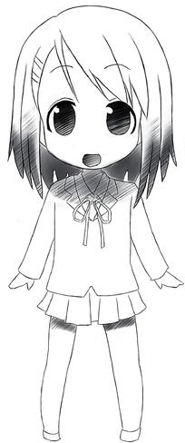 卡通小女孩图片-漫画插画|绘画图片下载(编号:5226246