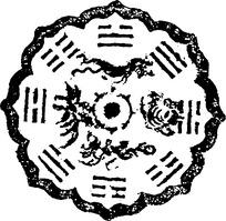 青龙白虎朱雀玄武四象图八卦图