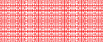 田字格边框剪纸造型参考