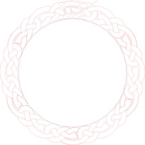 圆环边框镂空木雕参考图