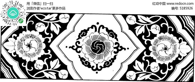 复古 花纹 精美 雕刻图片