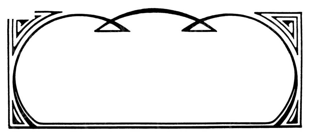 方形花纹边框
