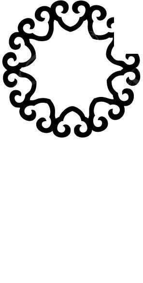免费素材 矢量素材 室内装饰 其他装饰 简单创意纹身图案矢量图图片
