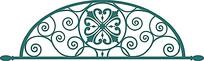 门框金属工艺雕花图案