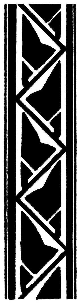 欧式复古镂空几何图案
