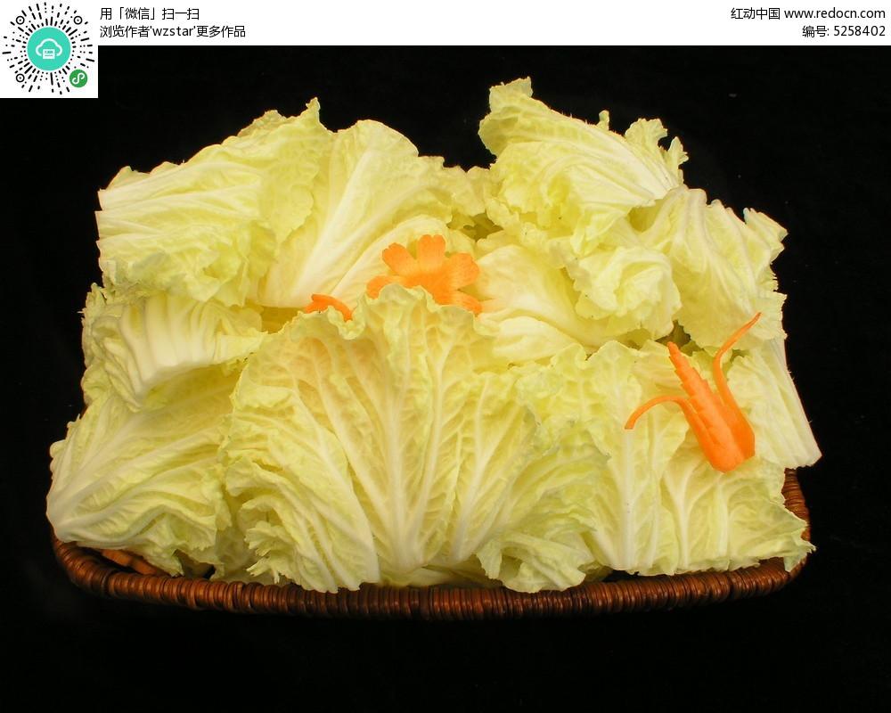 新鲜的大白菜