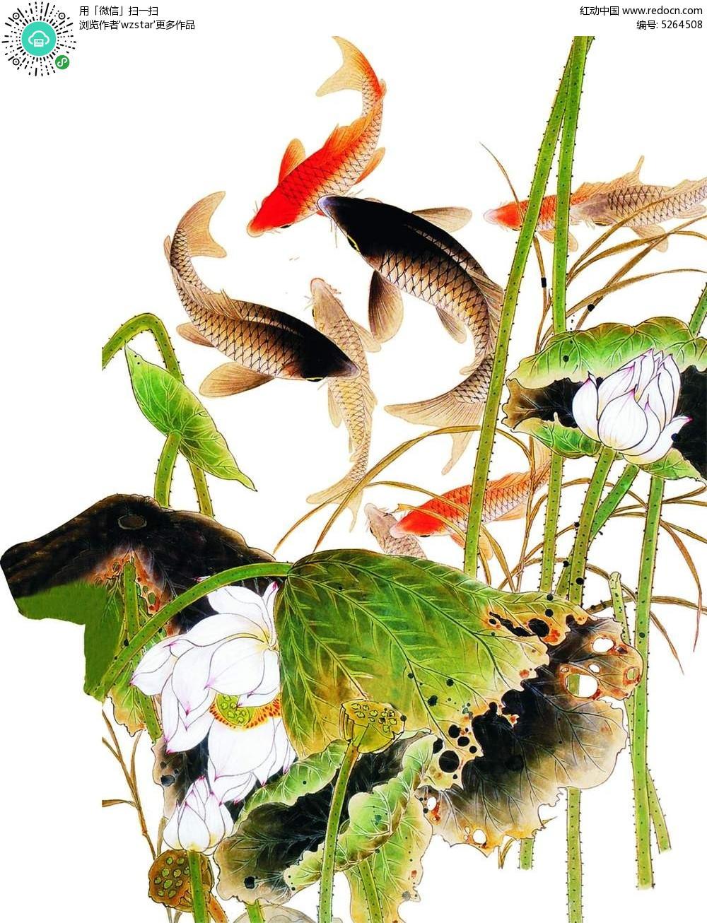 水墨画 中国风 背景素材