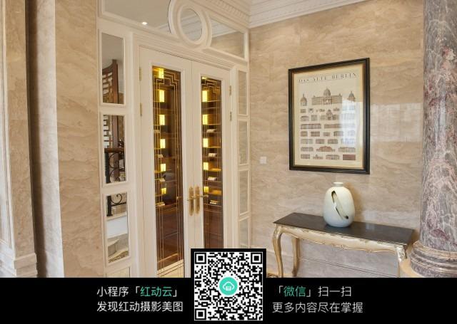 大理石墙面高清图片_室内设计图片