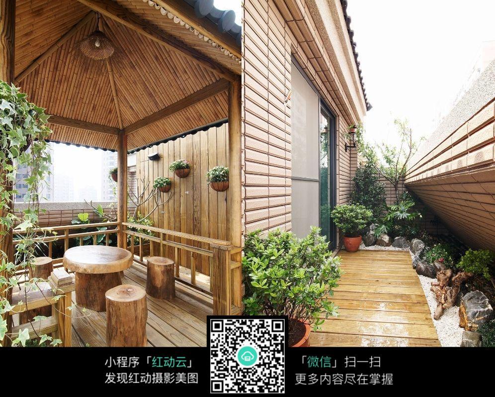 花园阳台设计效果图
