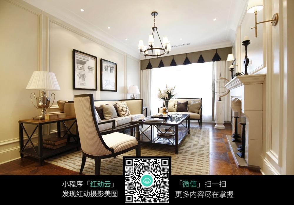 简约客厅设计图片_室内设计图片