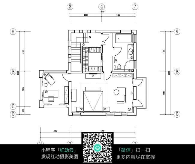 精装公寓平面图纸
