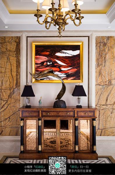 客厅墙面设计装饰图片免费下载 红动网
