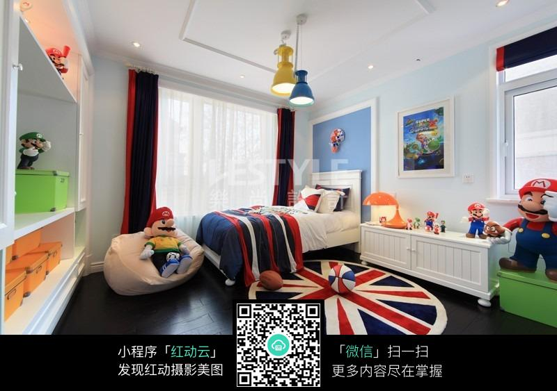 欧式儿童房图片_室内设计图片