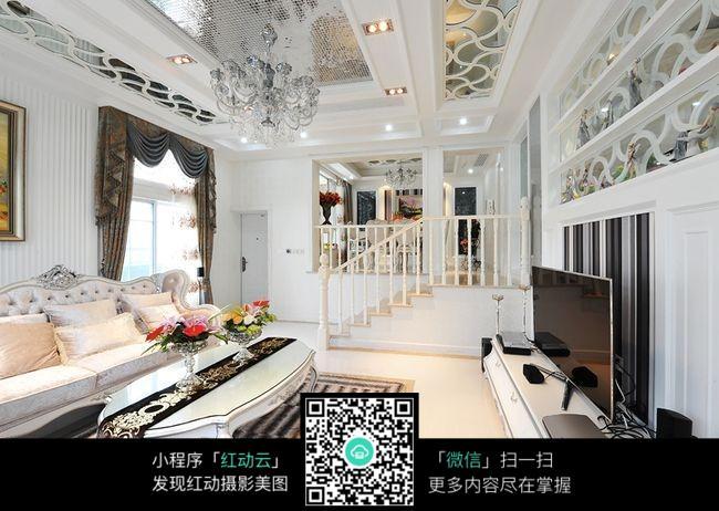 欧式风格客厅图片_室内设计图片