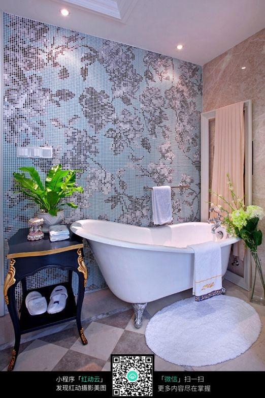 欧式风格室内浴室效果图片