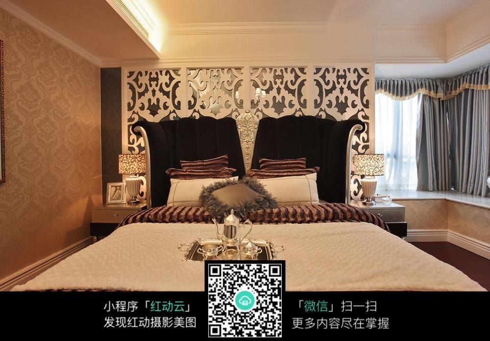 双人沙发_室内设计图片_编号5282552