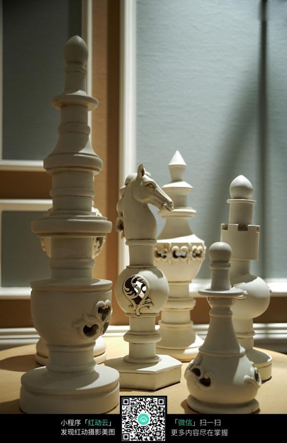 西洋棋装饰品图片