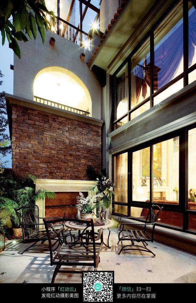 阳台_室内设计图片