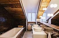 白色洗手池高清图片