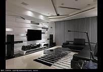 高档品质客厅装潢