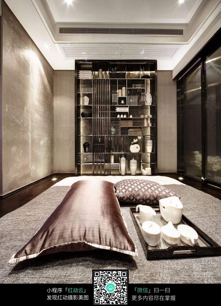 欧式高贵室内书房效果图片