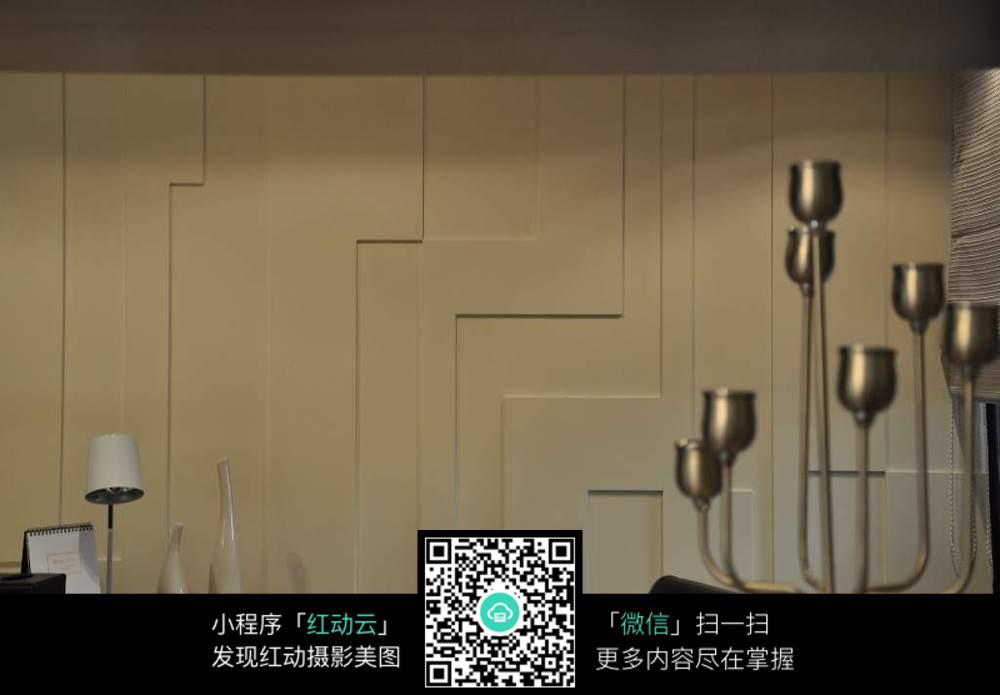 欧式简约室内墙面装修效果