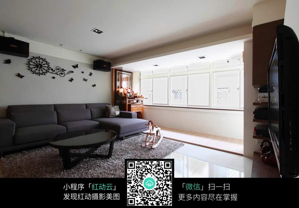 欧式现代风格客厅图片