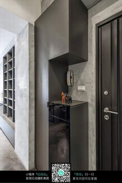 室内门口柜子装修设计图片