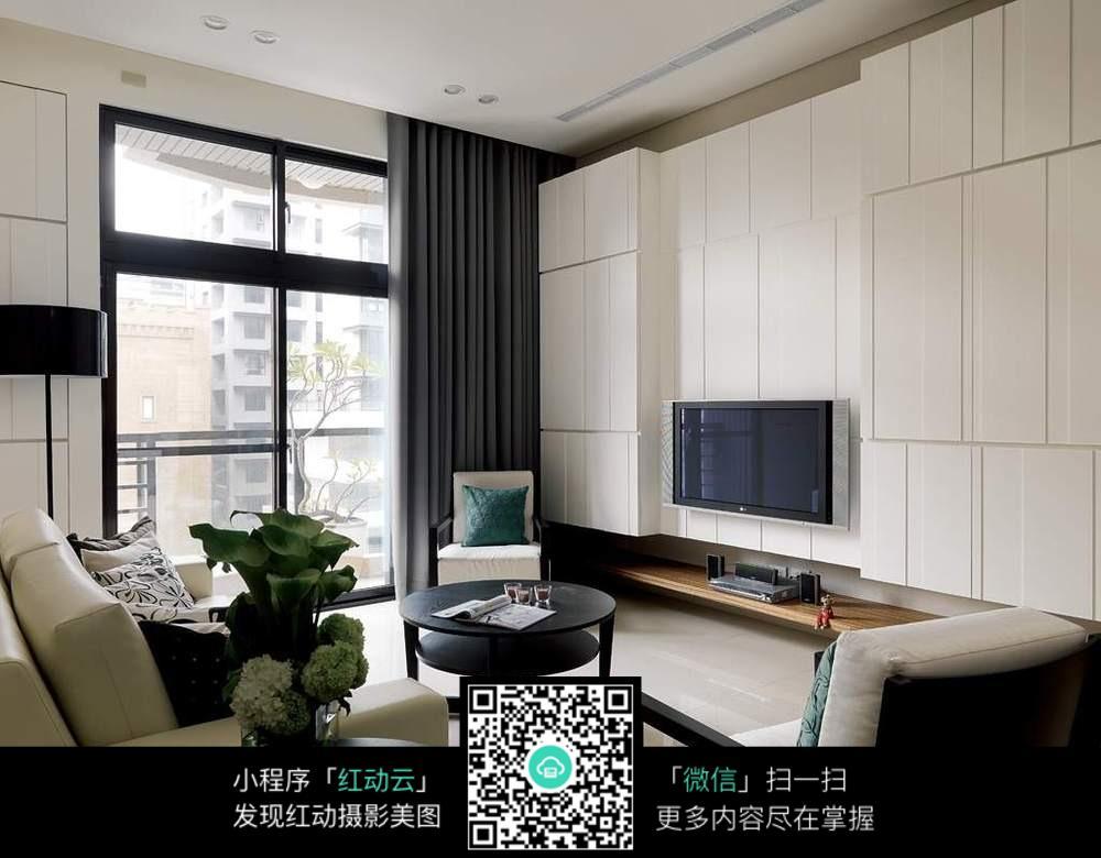 小户型客厅图片_室内设计图片图片