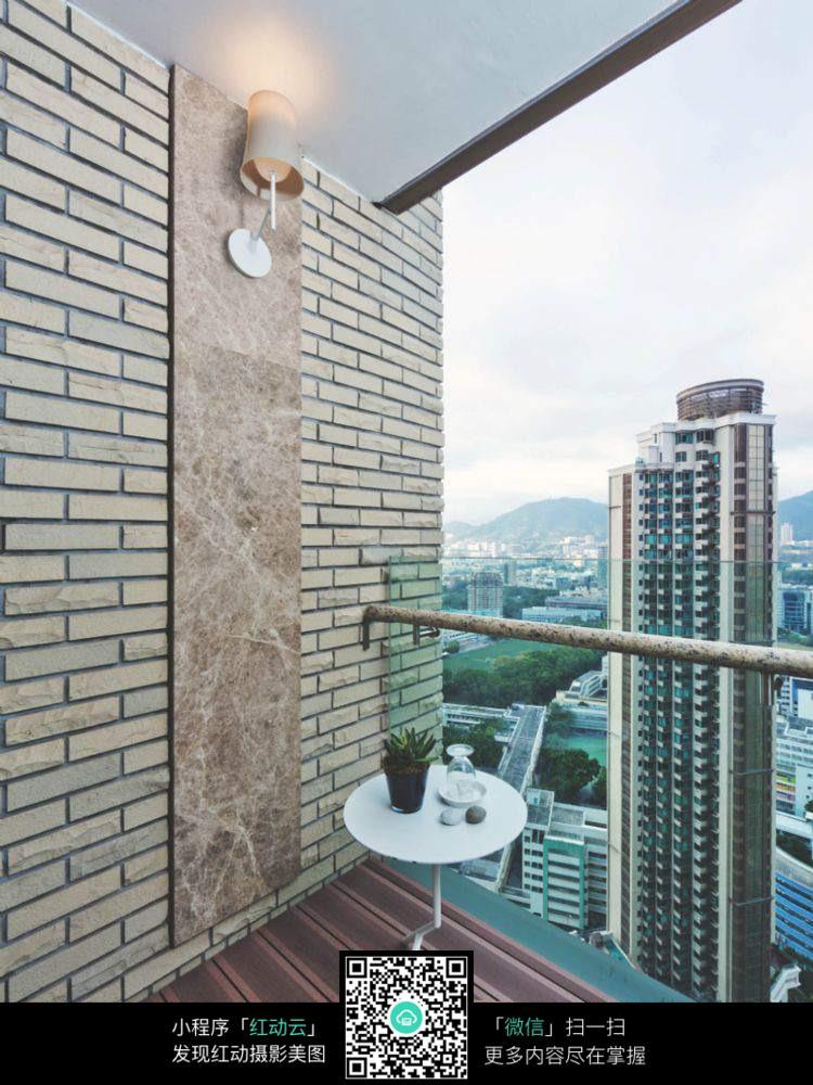 阳台装修效果图片_室内设计图片