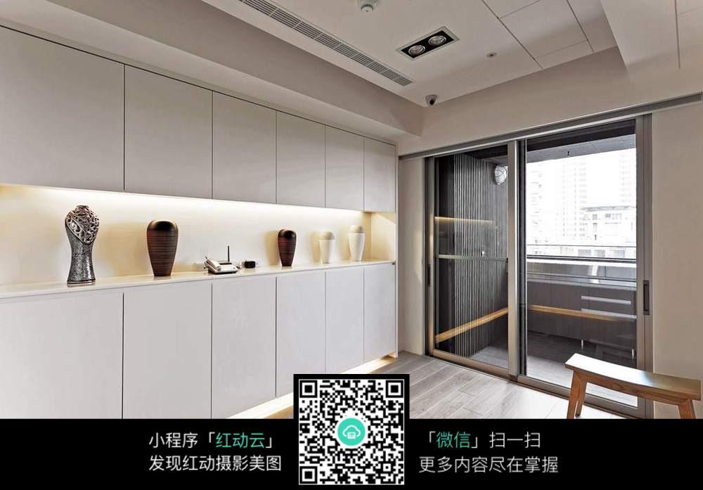 免费素材 图片素材 环境居住 室内设计 整洁室内柜子装修效果图片  请