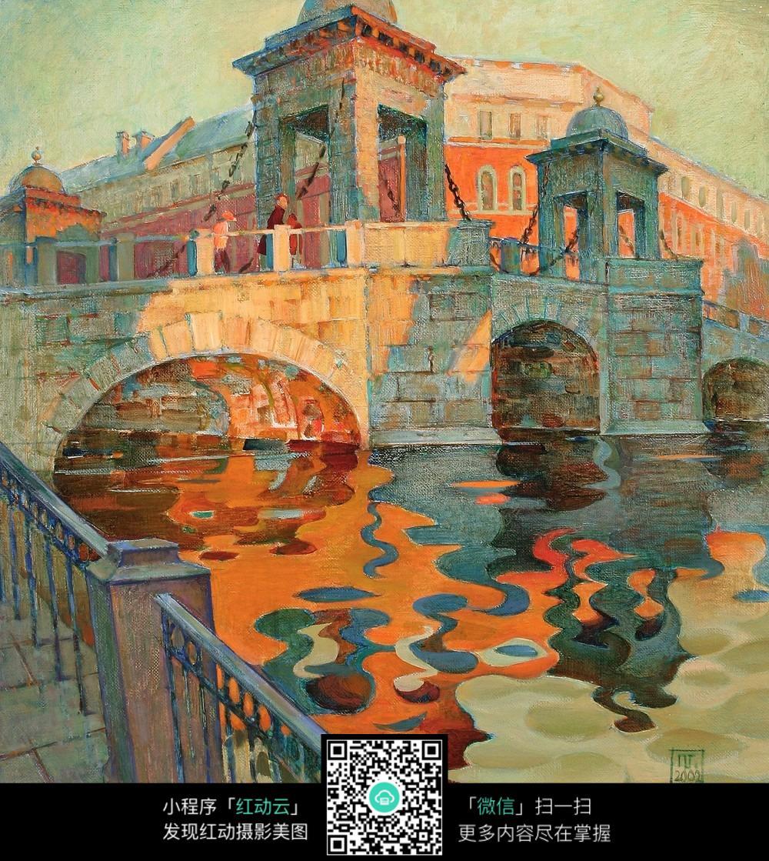 彩色城堡图片素材