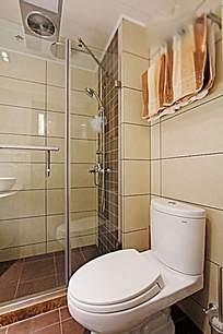 酒店浴室室内装修效果图