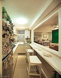 创意可爱的厨房吧台设计