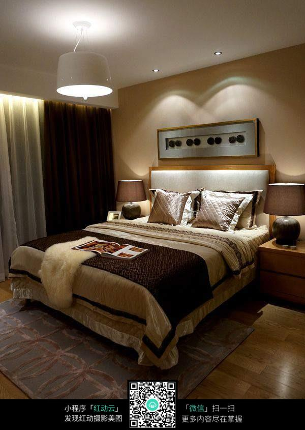 复古欧式卧室室内装修效果图