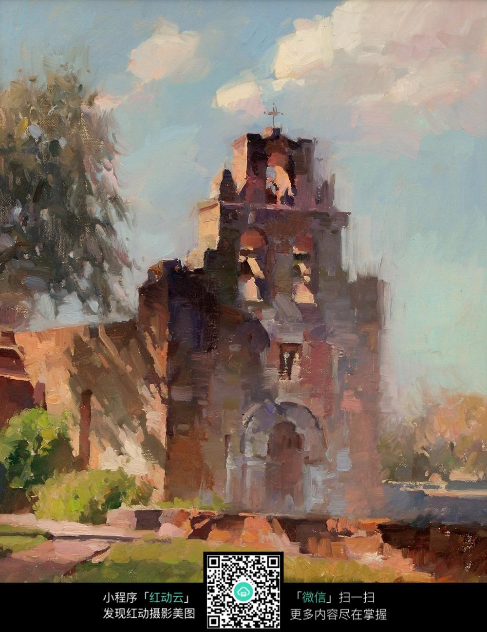海岸边的古堡图片免费下载 编号5303642 红动网