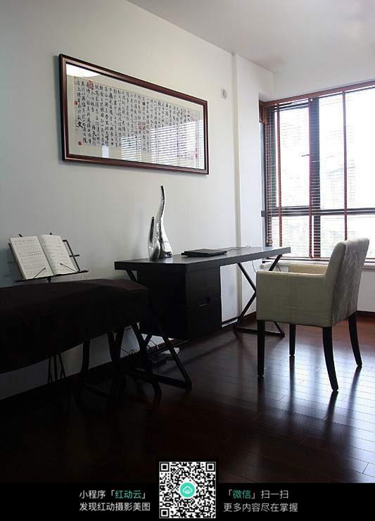 黑色古风家居图片_室内设计图片