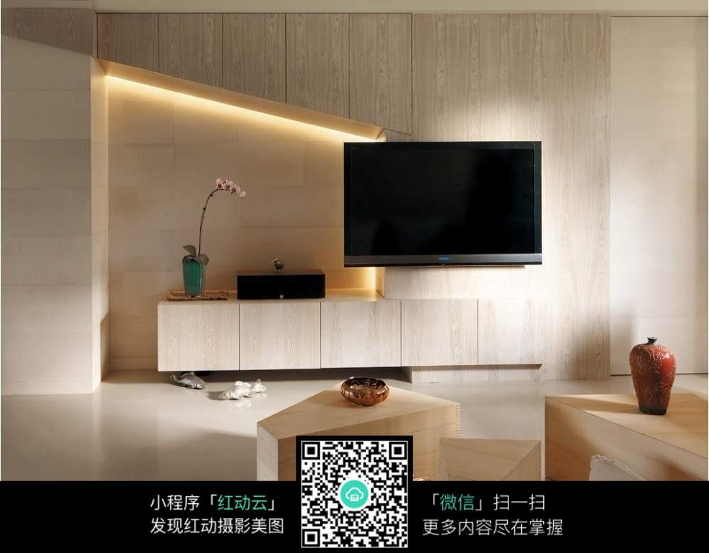 客厅电视背景墙设计效果图图片