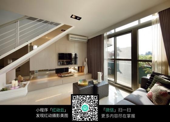 客厅阳台_室内设计图片