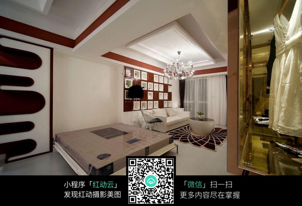 室内休息区设计效果图