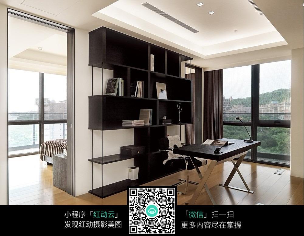 免费素材 图片素材 环境居住 室内设计 书房装修效果图片