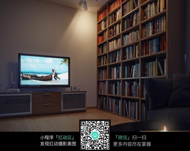 书香气息的客厅装潢设计图片