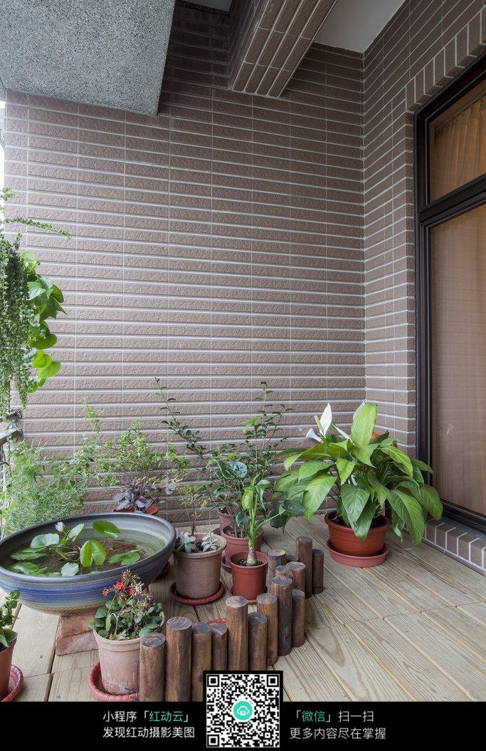 阳台花园设计效果图图片免费下载 编号5311438 红动网