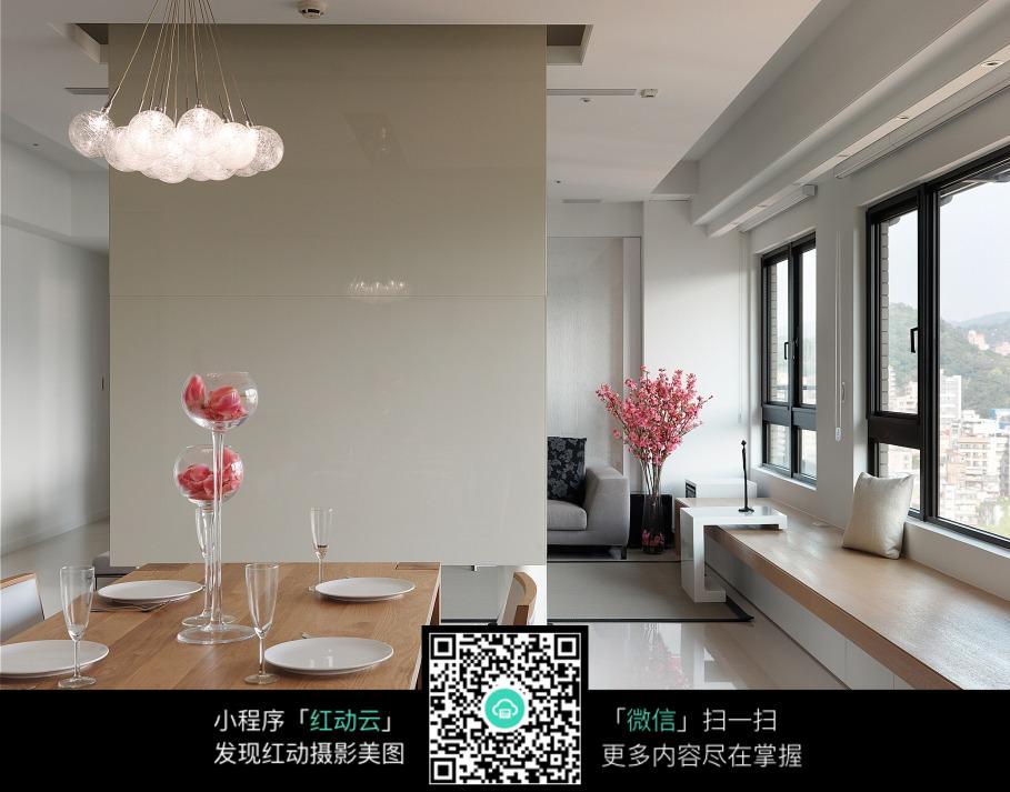 免费素材 图片素材 环境居住 室内设计 餐厅客厅隔断设计效果图片