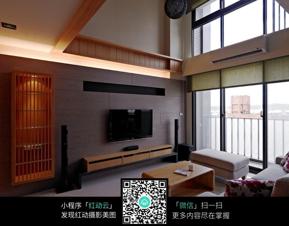 木质生活客厅室内装修效果图