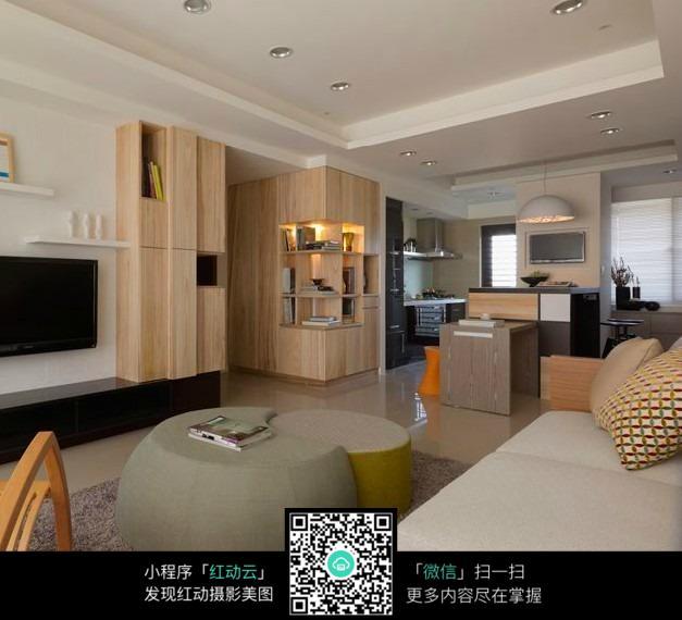 森系创意客厅室内装修效果图
